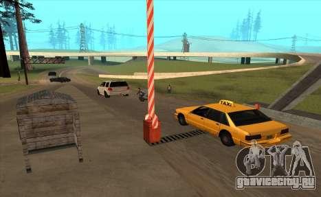 Таможня для GTA San Andreas четвёртый скриншот