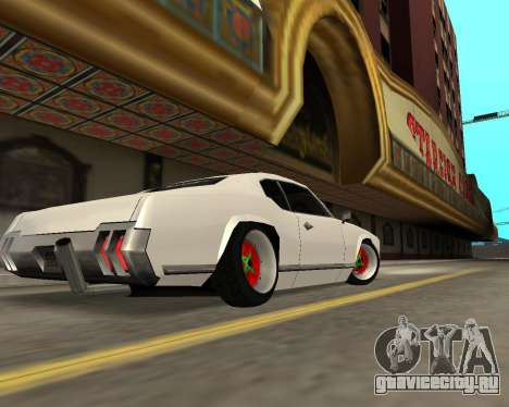 Sabre Boso для GTA San Andreas вид сзади