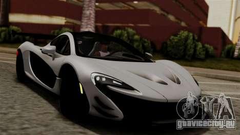 McLaren P1 GTR-VS 2013 для GTA San Andreas вид справа