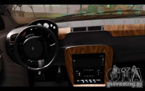 GTA 5 Declasse Sheriff Granger IVF для GTA San Andreas вид сзади слева