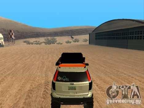 Ford Explorer 2013 Off Road для GTA San Andreas вид справа