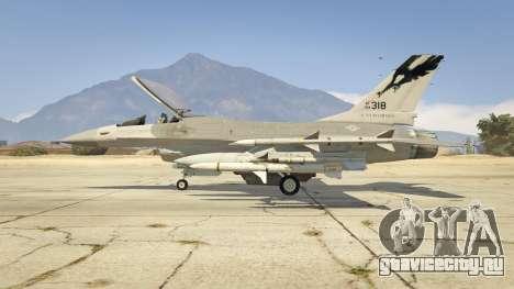 F-16C Fighting Falcon для GTA 5 второй скриншот