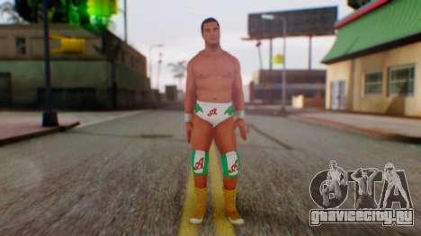 WWE Alberto для GTA San Andreas второй скриншот