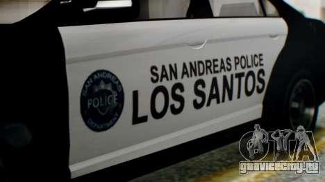 GTA 5 Police LS для GTA San Andreas вид справа