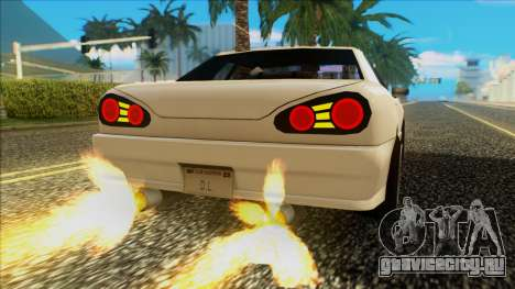Elegy HellCat для GTA San Andreas вид справа