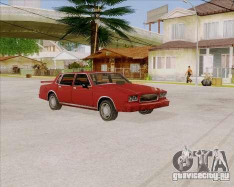 TahomaNew v1.0 для GTA San Andreas