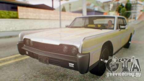 GTA 5 Vapid Chino Tunable IVF для GTA San Andreas вид сверху