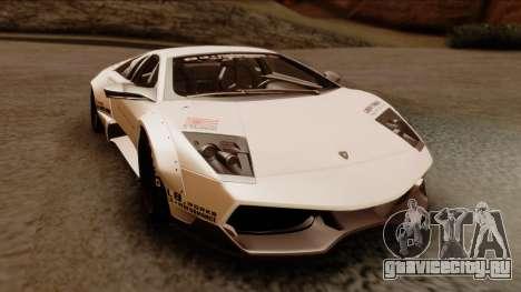 Lamborghini Murcielago LP670-4 SV 2010 для GTA San Andreas вид справа