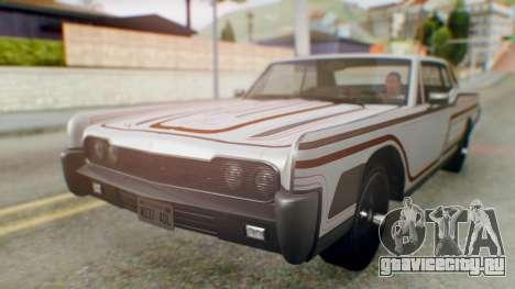 GTA 5 Vapid Chino Tunable IVF для GTA San Andreas колёса