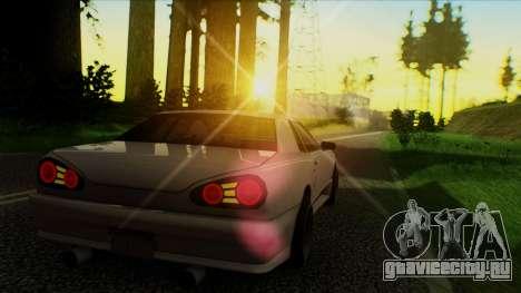 Elegy HellCat для GTA San Andreas вид слева