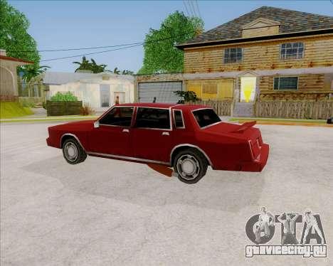 TahomaNew v1.0 для GTA San Andreas вид слева