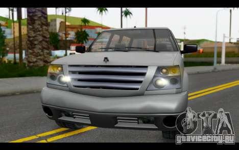 GTA 5 Albany Cavalcade IVF для GTA San Andreas вид изнутри
