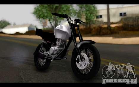 Honda CG Titan 150 Stunt Imitacion для GTA San Andreas