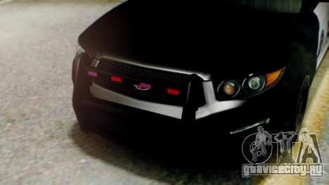 GTA 5 Police LS для GTA San Andreas вид сзади