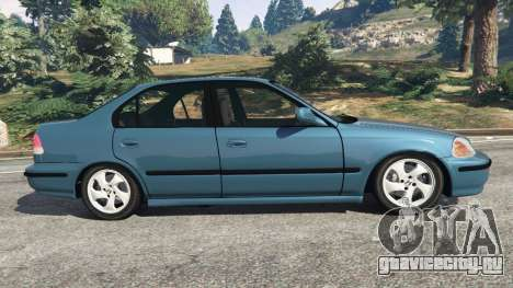 Honda Civic 1997 для GTA 5 вид слева