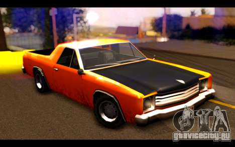 GTA SA Earl Picador для GTA San Andreas