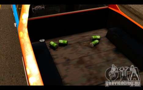 GTA SA Earl Picador для GTA San Andreas вид сзади слева
