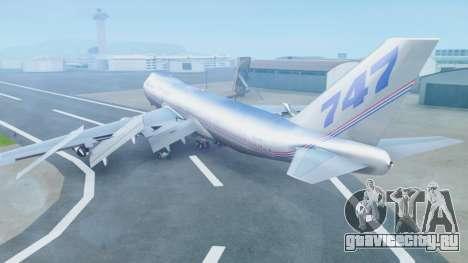 Boeing 747-400 Prototype (N401PW) для GTA San Andreas вид слева
