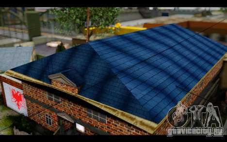 New CJ House для GTA San Andreas третий скриншот