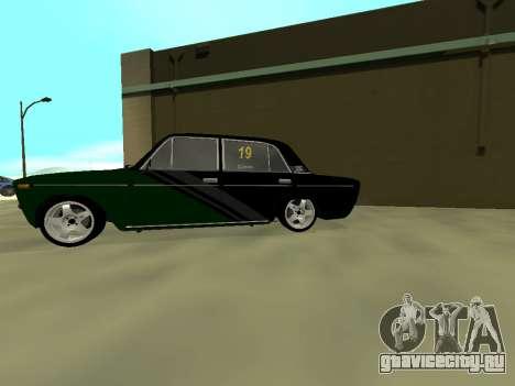 Vaz 2106 Ex animo Спорт для GTA San Andreas вид сзади слева