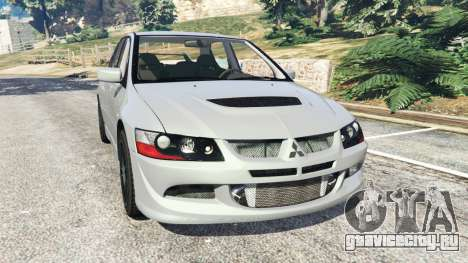 Mitsubishi Lancer Evolution VIII MR для GTA 5