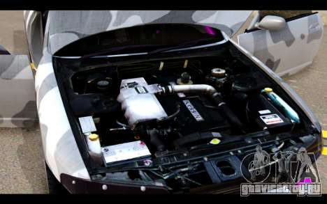 Nissan Skyline R33 Drift для GTA San Andreas вид сверху