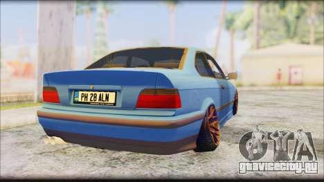 BMW M3 E36 Stanced-Hella для GTA San Andreas вид слева
