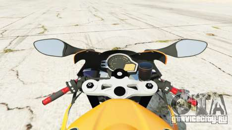 Honda CBR1000RR [Repsol] для GTA 5 вид сзади справа
