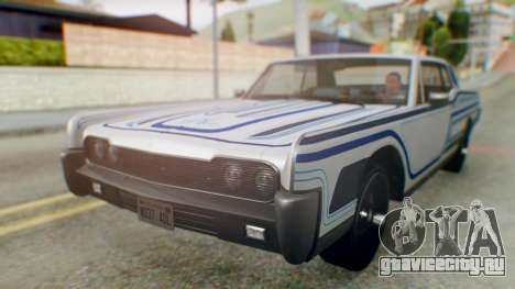 GTA 5 Vapid Chino Tunable IVF для GTA San Andreas салон