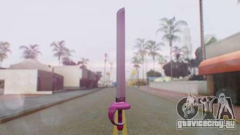Rose Sword from Steven Universe для GTA San Andreas