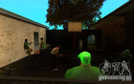 Оживление улицы Гантон для GTA San Andreas шестой скриншот