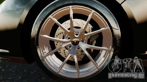 Lamborghini Asterion LP900 для GTA 4 вид справа
