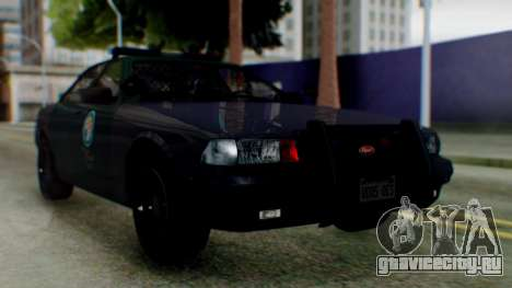 GTA 5 Vapid Stanier II Police IVF для GTA San Andreas