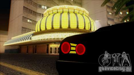 Elegy HellCat для GTA San Andreas вид сбоку