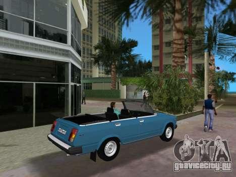 ВАЗ 21047 Кабриолет для GTA Vice City вид справа
