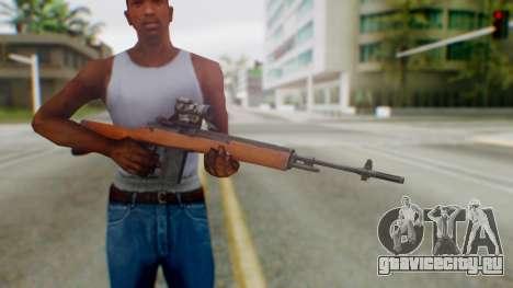 Arma2 M14 Sniper для GTA San Andreas третий скриншот
