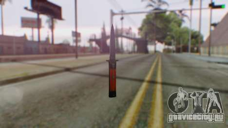 GTA 5 Bodyguard Switchblade для GTA San Andreas