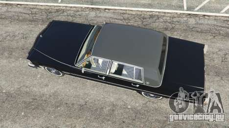 Cadillac Fleetwood Brougham 1985 для GTA 5 вид сзади