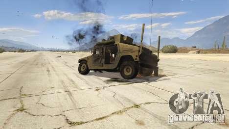 M1116 Humvee Up-Armored 1.1 для GTA 5