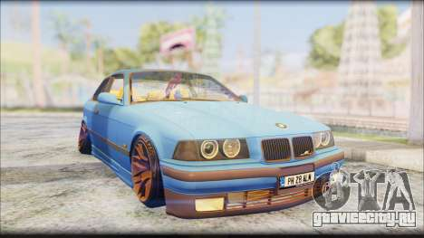 BMW M3 E36 Stanced-Hella для GTA San Andreas