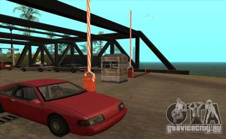 Таможня для GTA San Andreas третий скриншот