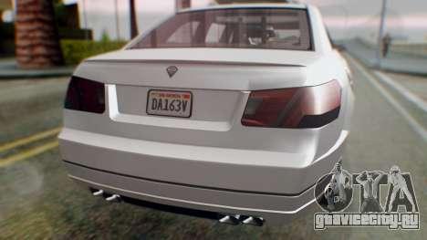 GTA 5 Benefactor Stretch E Turreted IVF для GTA San Andreas вид сбоку
