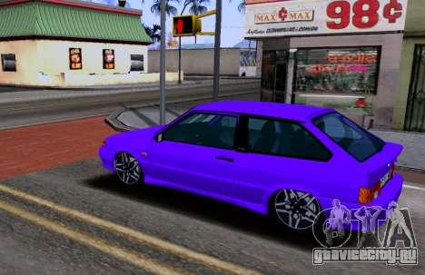 VAZ 2113 KBR для GTA San Andreas вид слева