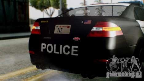 GTA 5 Police LS для GTA San Andreas вид сверху