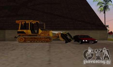 New Dozer для GTA San Andreas вид сзади