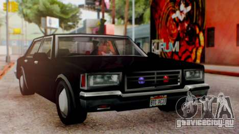 Unmarked Police Cutscene Car Normal для GTA San Andreas
