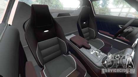 Mercedes-Benz SLS AMG GT3 для GTA 5 вид справа