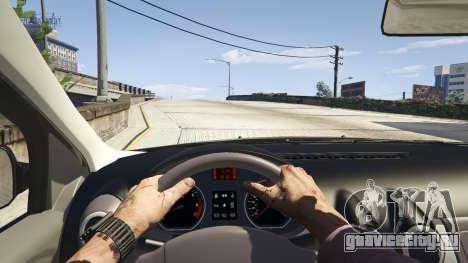 2008 Dacia Logan v2.0 FINAL для GTA 5 вид справа