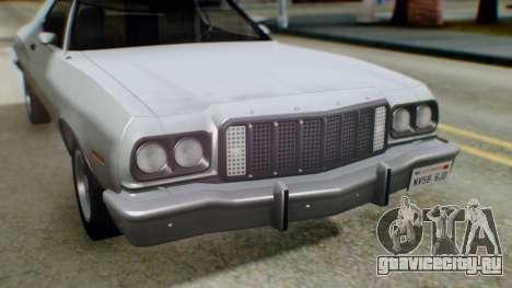 Ford Gran Torino 1974 IVF для GTA San Andreas салон