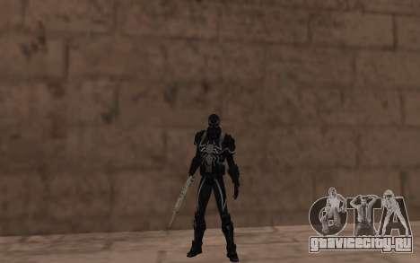 Агент Веном от Robinosuke для GTA San Andreas третий скриншот